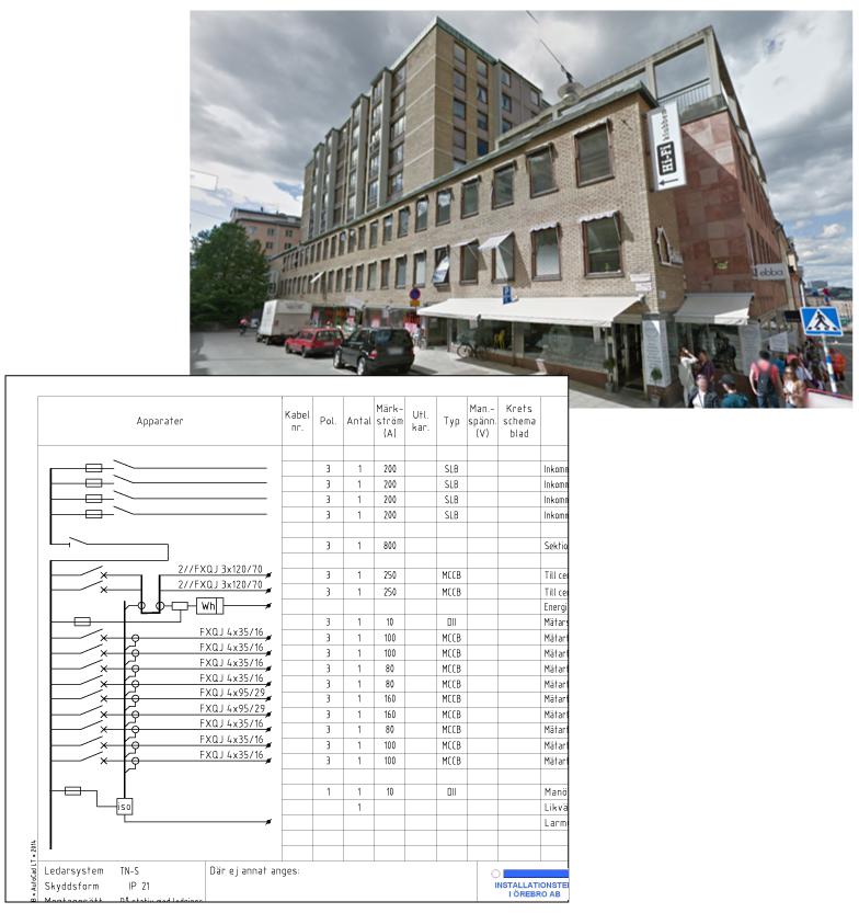 Projektering för total ombyggnad av k-märkt hus på Södermalm
